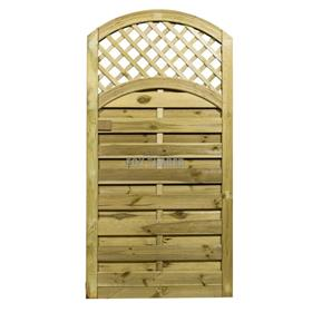 ARCHED LATTICE TOP GATE 180CM X 90CM