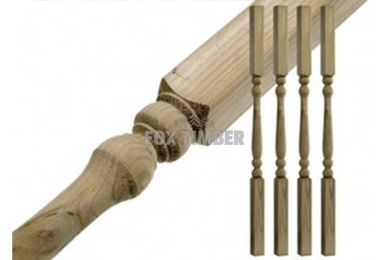 SOFTWOOD COLONIAL SPINDLE 41 X 41 MM