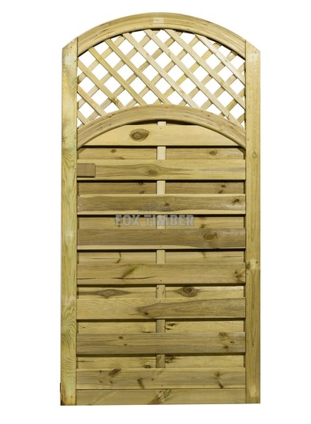 Arched Lattice Top Gate 180cm X 90cm Buy Online