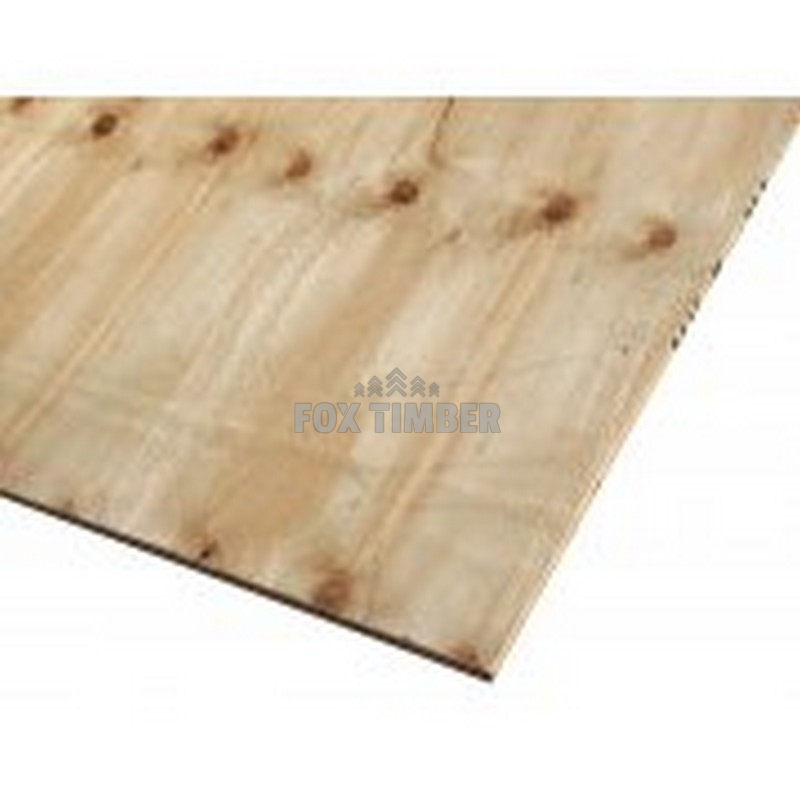 PLYWOOD SW PINE FACED 12MM 8'0 X 4'0