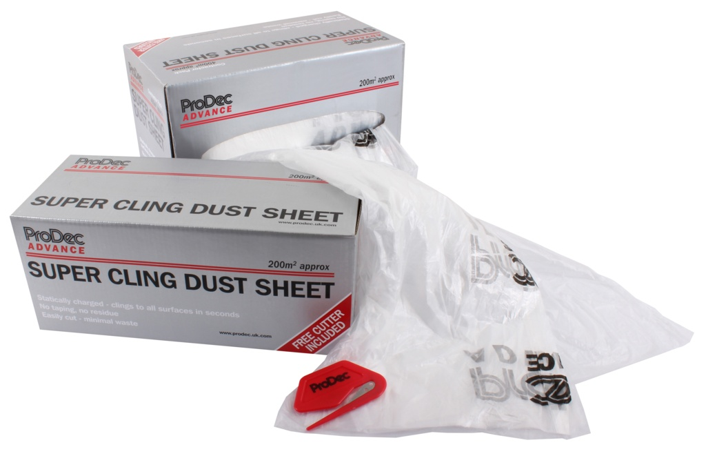 Super Cling Dust Sheet