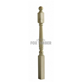 SOFTWOOD COLONIAL NEWEL POST