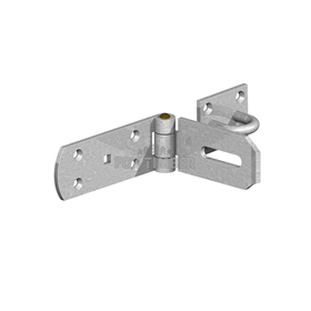 GALV HASP AND STAPLE HEAVY SAFETY