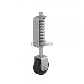 GATE WHEELS SPRING LOADED HD