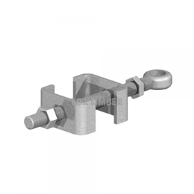 GALV ADJUSTABLE BOTTOM GATE FITTING 3