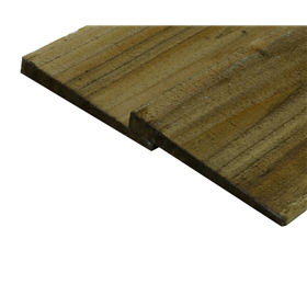 HEAVY DUTY FEATHER EDGE BOARDS