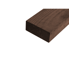 SAWN TANALISED RAILS BROWN