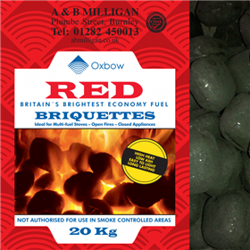 RED FLAME COAL BRIQUETTES